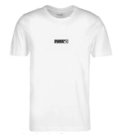 PUMA Classic Logo No.2 T-Shirt pour Homme | Tee shirt homme, T shirt