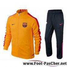 Nouveau Veste Du FC Barcelone Jaune N98 Homme 15/2016/2017 Pas Cher