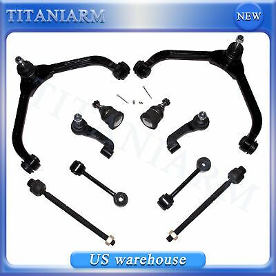 For 2002 2004 Jeep Liberty 10pc Front Upper Control Arm Suspension