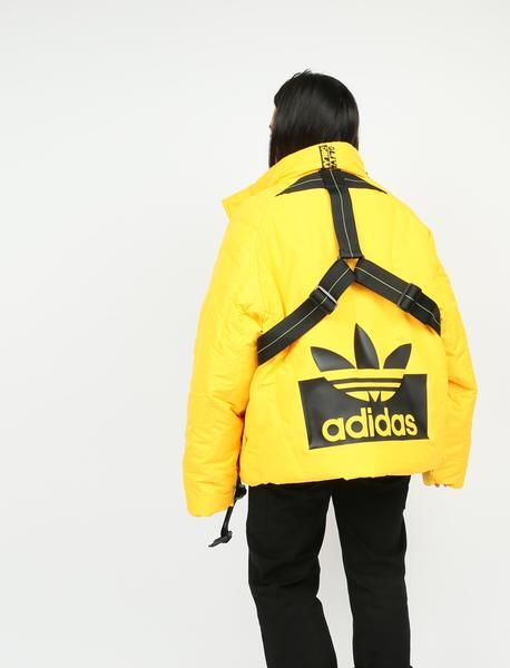 X Jacket Adidas Leblanc Staple Originals Olivia Yellow WQCxoBeErd