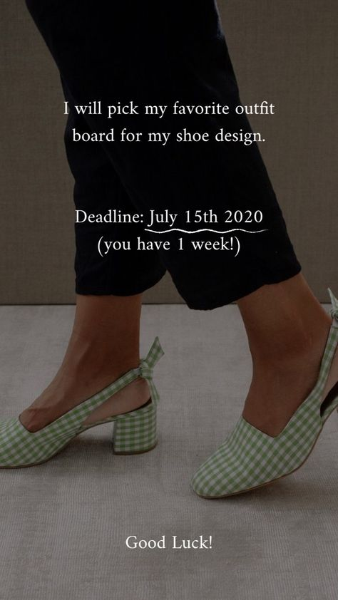 If you liked my shoes, now you can get them for free!