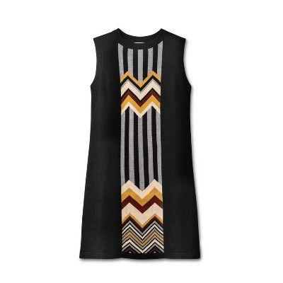 New Ladies Womens Long Sleeve Stripe Zig Zag Chevron Knitted Mini Jumper Dress