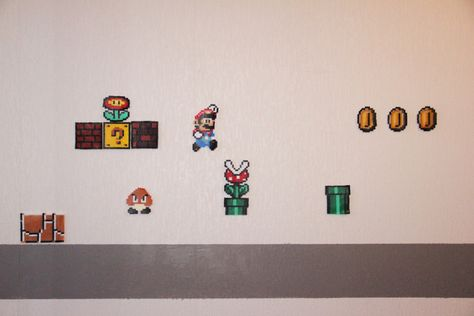 Diy Schémas Des Motifs Mario Bros Geek Pinterest