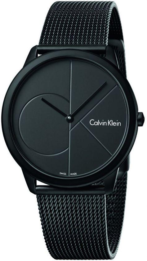 Calvin Klein Unisex-Adult Quartz Watch, Analog Display and Stainless Steel Strap Trendy Watches, Best Watches For Men, Elegant Watches, Men's Watches, Luxury Watches For Men, Beautiful Watches, Cool Watches, Fashion Watches, Calvin Klein Models