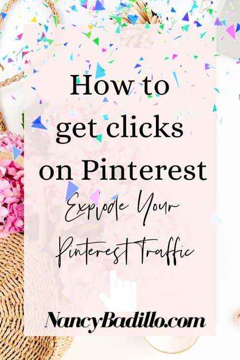 How To Get Clicks On Pinterest