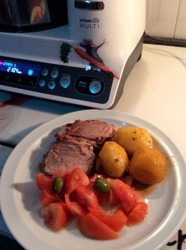 Pá De Porco Em Slow Cook Com Vinho Tinto Receitas Kcook