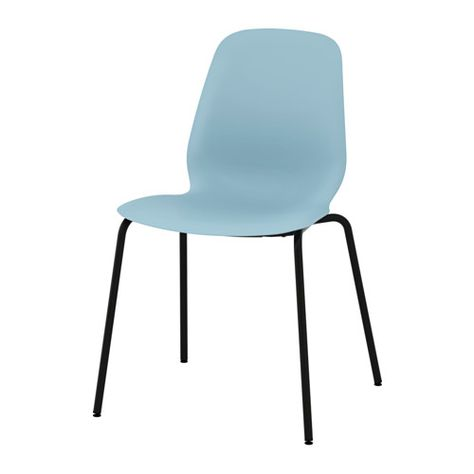 Leifarne Chair Light Blue Broringe Black Dining Room Pinterest