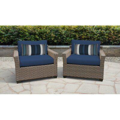 Sol 72 Outdoor Rochford Patio Chair, Outdoor Wicker Patio Furniture Sets
