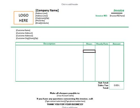 Excel Invoices Templates Free Free Invoice Templatehloom  Ram  Pinterest