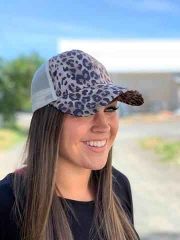 New Arrivals Stb Boutique Baseball Hats Leopard Print Arrivals