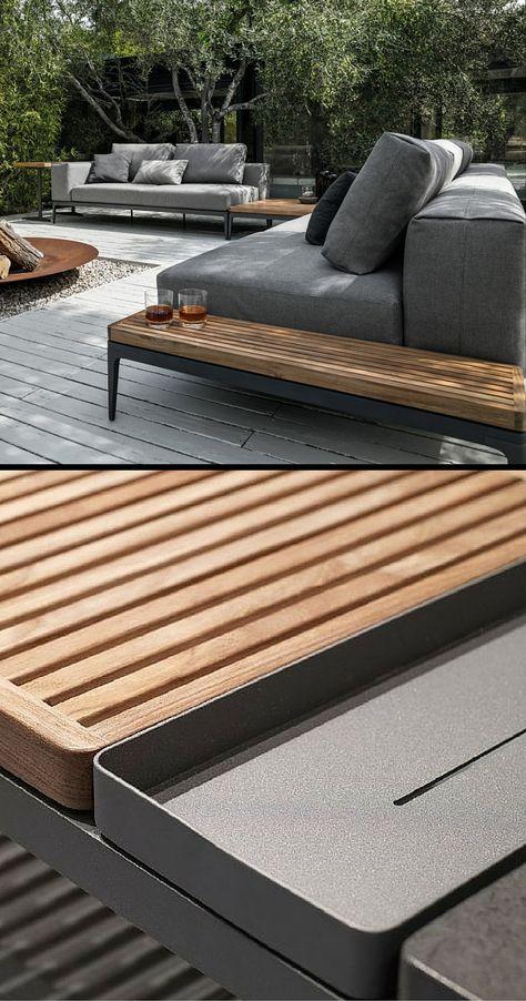 Gloster Grid | Modular Lounge Patio Furniture