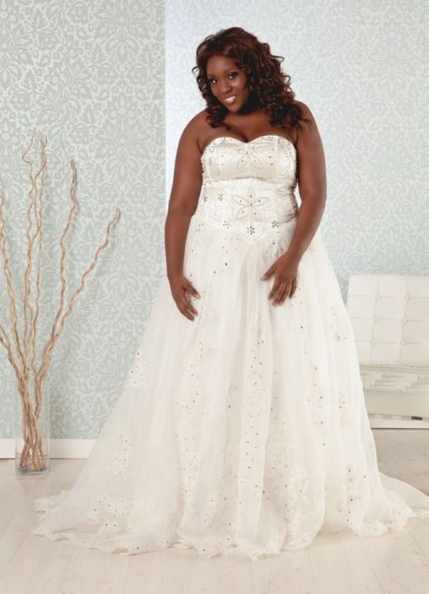 Madeline Plus Size Princess Ball Gown Wedding Dress Plus Size
