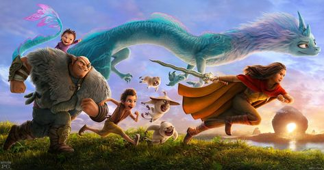 Raya and the Last Dragon Wins Second Box Office Weekend with $5.5M