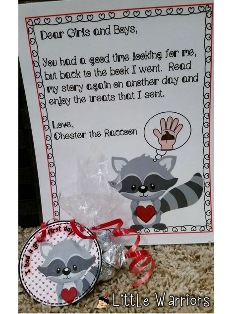 Kindergarten Kissing School Treat First Cute Hand Tour Tags Day The For Fun Bag Andt Kindergarten First Day The Kissing Hand Preschool First Day