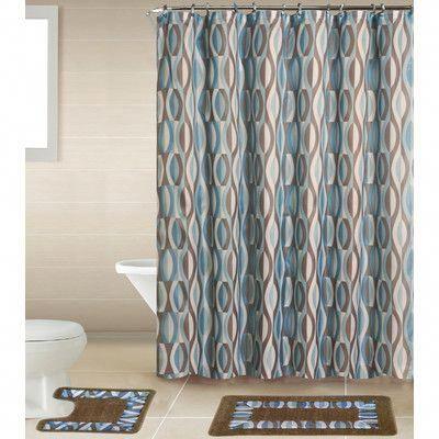Latitude Run Buxton Boutique Shower Curtain Set Color