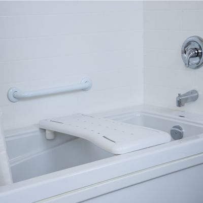 For Bathtubs That Donu0027t Feature Built In Seats, The HealthCraft Bath Board  Provides A Secure Place To Sit. The Sturdy Plastic Seat Makes Washing, Au2026