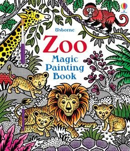 Show Details For Zoo Magic Painting Book Painted Books Fairy Book Usborne Books