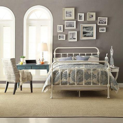 Tilden Standard Metal Bed - Bronze (Full) : Target