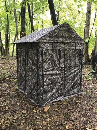 Trophy Slayer 5 X5 Permanent Ground Blind In 2020 Ground Blinds Hunting Blinds Hunting Stands