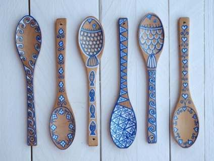 30 Ideas Painting Flower Website Spoon Crafts Painted Spoons Wooden Spoon Crafts