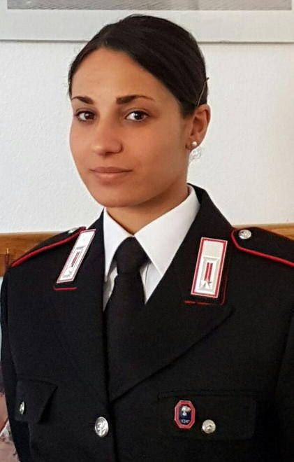 Italian Officer Military Women Police Women Female Soldier