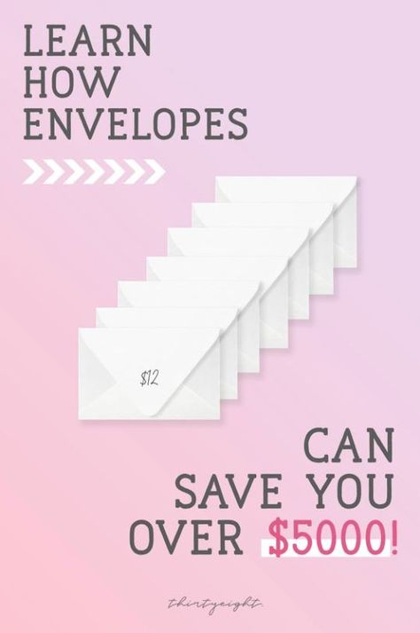 How Pros Save $5000 in a Year With Envelopes