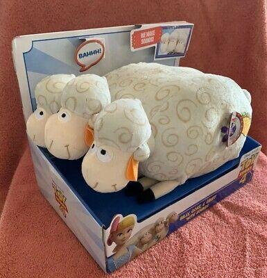 Goat /& Gruff Plush With Sounds Bo Peeps Sheep New Toy Story 4 Billy
