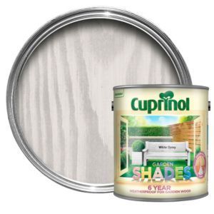 Cuprinol Garden Shades White Daisy Matt Wood Paint 2 5l Cuprinol Garden Shades Cuprinol Shade Garden
