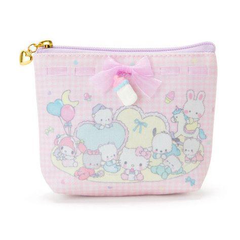 My Melody Sanrio Cotton swab case with mirror Kawaii Japan New F//S