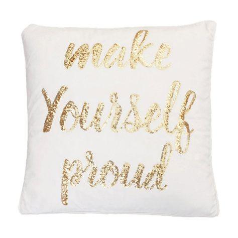 MARNIE Sequins Velvet Square Pillowcase