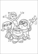 Disegni Da Colorare Per Bambini Inside Out1 Ricamo Pinterest