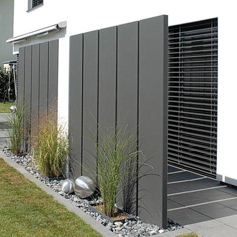 224 besten Sichtzaun Bilder auf Pinterest Garten terrasse - gartenabtrennung zum nachbarn