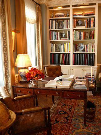 4 Interior Design Ideas I Love Traditional Home Office Home Home Decor