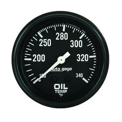 Sponsored Ebay Autometer 2314 Autogage Oil Temperature Gauge In 2020 Gauges Oils Temperatures