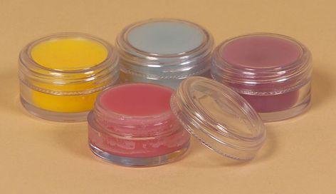 lip gloss pot - Homemade