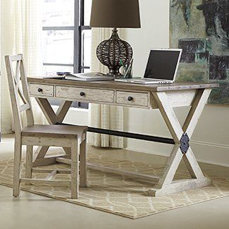 Williston Forge Farah Desk And Chair Set Desk And Chair Set Wood Writing Desk Home Office Furniture
