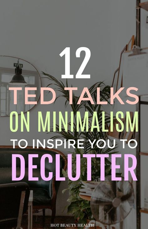 Want to live the minimalist lifestyle but dont know where to start with the decluttering process? These inspirational TED Talks about minimalism and spending less will make you want to declutter and simplify your home and life now! Anna Bond, Minimal Living, Simple Living, John Pawson, Rifle Paper, Inspirational Ted Talks, Ted Talks Video, Real Life, Minimalist Lifestyle