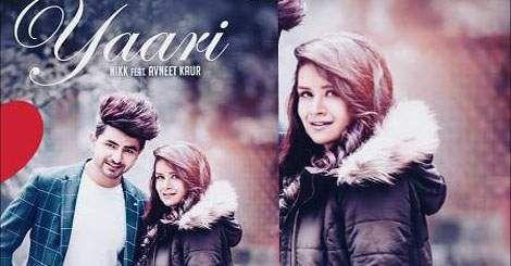 Yaari Mp3 Song Download By Nikk Ft Avneet Kaur Punjabi 2019 New Mp3 Song Download Mp3 Song Songs