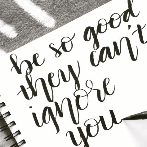 Be So Good @terrajp bujo quote idea. Bullet journal spread.