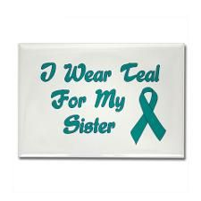 Ovarian Cancer Bracelet for My Sister Living You Co