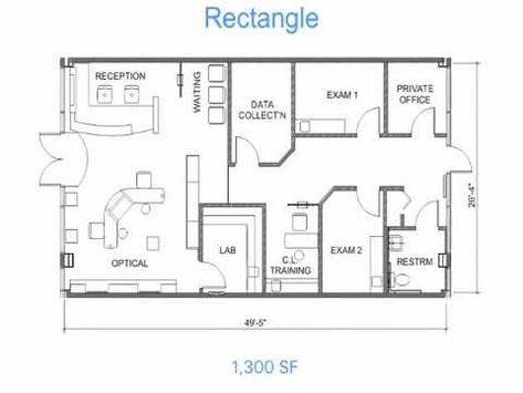 Optical Office Design Secrets 1 Floor Plan Layouts Youtube Medical Office Design Doctor Office Design Office Floor Plan