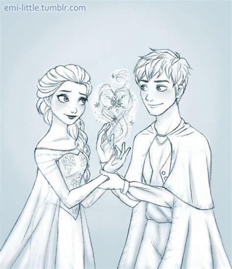 Elsa And Jack Frost Coloring Pages To Print Elsa Coloring Pages Elsa Coloring Coloring Pages