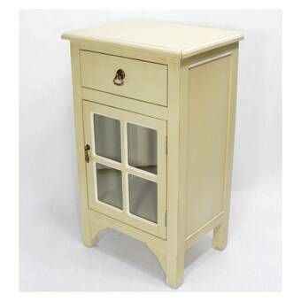 Winburn 1 Door Accent Cabinet Wooden Cabinets Cabinet Drawers