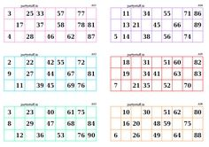 Classic Tambola Tickets With Name Tambola Housie In Classic Theme Bingo Cards Printable Classic Theme Classic Card