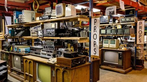 Where Do Movies Get Their Vintage Electronics? Watch This Video to Find Out