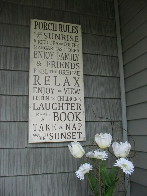 I want this when I'm having a back porch evening...can't wait for spring to be able to enjoy some of these evenings