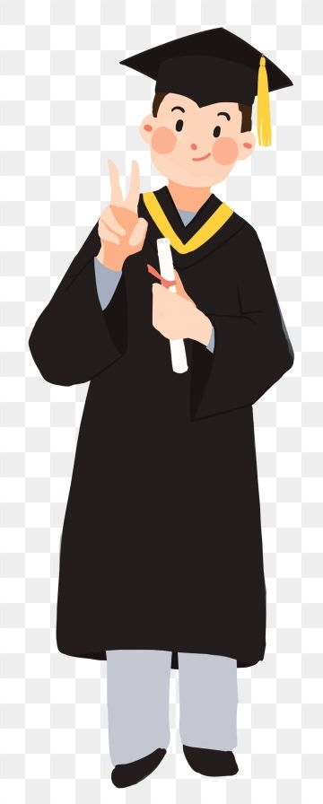 Hand Painted Illustration Graduation Graduation Season Student