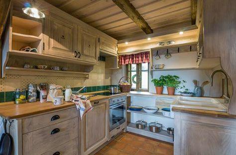 Cucine in stile arte povera | casa | Kitchen Cabinets, Home ...