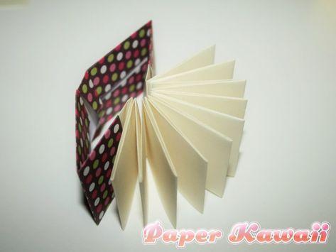 Mini Origami Books Tutorial Book Origami Origami Easy Book Crafts