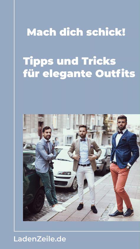 Stylingtipps für elegante Herren Outfits
